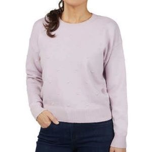 Kendall + Kylie lilac sweater size XL